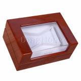 Casella di legno della lacca polacca di qualità superiore del piano che impacca con la finestra