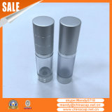Auf lager transparente luftlose Flaschen des Aluminium-pp. für Lotion-Sahne