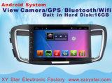 De androïde Speler van de Auto DVD van het Systeem voor Honda Accord 10.1 Duim met GPS Navigatie