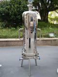 Cárter del filtro sanitario industrial del cartucho del acero inoxidable de la filtración de la etapa multi