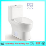 Badezimmerupc-bündiges Ventil-Einteiler-Toilette