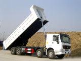 승진에 있는 HOWO 8X4 새로운 Sinotruk 트럭