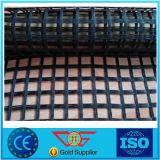 Taian에서 섬유유리 Geogrid 150-150kn/M 강화