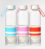 bottiglia impaccante della bottiglia di acqua di 700ml Juicing del Juicer della tazza di vetro portatile del regalo