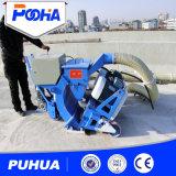 車輪のコンクリートおよび版のクリーニングのための携帯用サンドブラスト機械