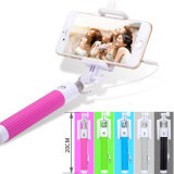 Wire Mini One Selfie Stick를 가진 자동차 또는 Cell Phone Accessories Foldable Selfie Stick Monopod