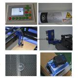 Cortadora auto del laser de la tela de materia textil que introduce para la tela