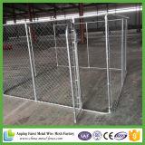El moho protegió la jaula barata galvanizada del perro del perro de la venta al por mayor de acero de la jaula