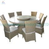 Conjunto seccional de mimbre de los muebles del jardín del sofá del patio del patio de Hz-Bt139 Río del sofá al aire libre determinado de la rota