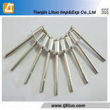 Tipo aberto rebite de aço de alumínio da cor do RUÍDO 7337 das cortinas