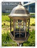 Stile solare dell'europeo della lampada dell'assassino della zanzara del LED