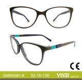 De Optische Frames van uitstekende kwaliteit van de Acetaat (81-a)