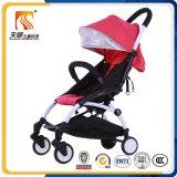 Do frame aprovado da liga de alumínio de China do Ce Buggy de bebê de pouco peso Foldable com plutônio Wheeles