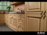 Welbom подгоняло мебель кухни твердой древесины дуба конструкции