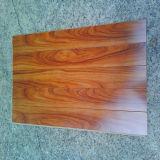 Alto suelo de madera laminado lustre impermeable (suelo laminado)