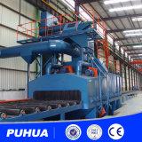 Machine de sablage à convoyeur à rouleaux pour structure en acier