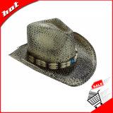 Sombrero de vaquero occidental de la paja del papel de sombrero de vaquero del sombrero de paja del papel de sombrero de vaquero de Starw