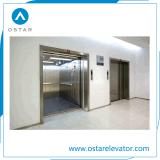 Elevador grande do frete do espaço, elevador da carga com sistema de controlo de Vvvf