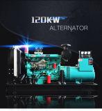 120kw/150kVA 50/60Hz 1500/1800rmp 판매를 위한 침묵하는 디젤 엔진 발전기 세트