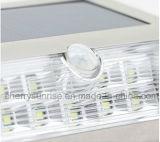 Solargarten-Lampen-Pfosten beleuchtet 9 LED-Solarim freienwand-Laternen