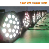 18X10W 4in1 RGBW LED PAR64  Luz