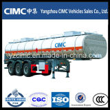 Three AxlesのCimc 40m3 Oil Fuel Tanker Trailer