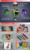 UVdigital Flatbed Printing Machine für CD/Golf Ball A3/A4 Size UVPrinter mit Dx5 Head 1440dpi