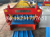 High Speed Roofing Double Layer Hi Rib Perfil Roll formando máquina