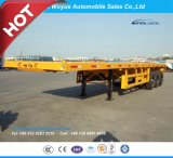 Welle 3 12.5 m-Flachbett-LKW-halb Schlussteil mit Jost Fahrgestell