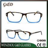 Het nieuwe Oogglas Eyewear van de Frames van de Glazen van de Acetaat van het Ontwerp Optische