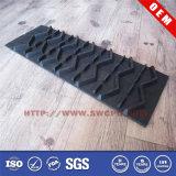 Produto preto feito sob encomenda da borracha de silicone