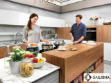De moderne Houten Keukenkast van het Eiland van het Meubilair van het Hotel van het Huis van Italië