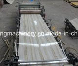 Máquina da extrusora do PVC e de extrusão do PVC linha de mármore