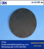 Filtro de acoplamiento tejido de alambre del acero inoxidable 304