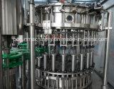 ガラスビンの炭酸飲料のびん詰めにする機械