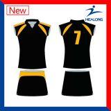 安い昇華女性チームのネットボールのユニフォームの服のスカート