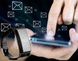 2016 Tarief van het Hart van het Horloge van de Armband van de Geschiktheid van Umini Bluetooth het Slimme/Slaap/de Slimme Armband van de Monitor/van de Pedometer