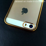 iPhone 5/5sのための高いPrecision TPU Metallic Frame Cell Phone CaseかCover