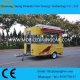 Carrinha multifuncional para comida móvel de rua para venda