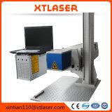 Bewegliche CO2 10W Laser-Markierungs-Gravierfräsmaschine, geprüfter optischer Selbstgalvanometer