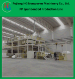 PP Spunbond 두 배 나사 비 길쌈된 직물 생산 라인