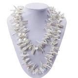 Barroco del 120cm Lomg y collar moderno de la perla de las perlas de Biwa