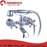 Bath de traitement du laiton deux de qualité/robinet de douche (ZS57501)