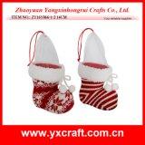 Cadeau de bonhomme de neige de Santa de cadeau de Noël de décoration de thème de Noël de la décoration de Noël (ZY14Y323-1-2-3)