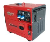 2-8kVA open Diesel van het Type Luchtgekoelde Generator