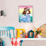 Стикер K-030 детей DIY искусствоа стены украшения фабрики сразу оптовый домашний кристаллический