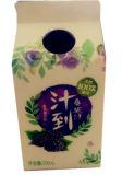 우유 주스를 위한 500ml 박공 상단 판지 또는 크림 또는 포도주 또는 요구르트 또는 물