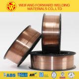 fio do MIG do carretel 15kg/de 1.2mm que solda o material de soldadura consumível com Er70s-6