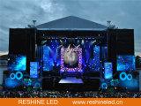 옥외 임대 단계 배경 사건 LED 단말 표시 스크린 또는 위원회 또는 표시 또는 벽