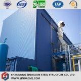 発電所のための鉄骨フレームの構造の主要な研修会